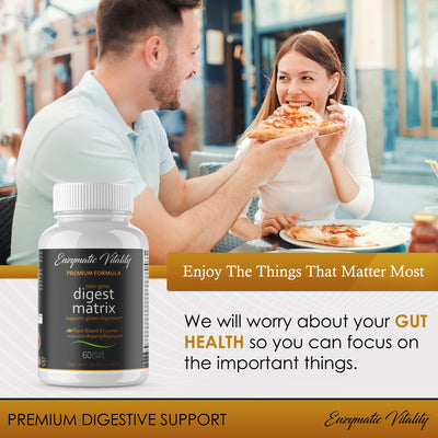 Digestive Enzyme Supplements - Enzymatic Vitality
