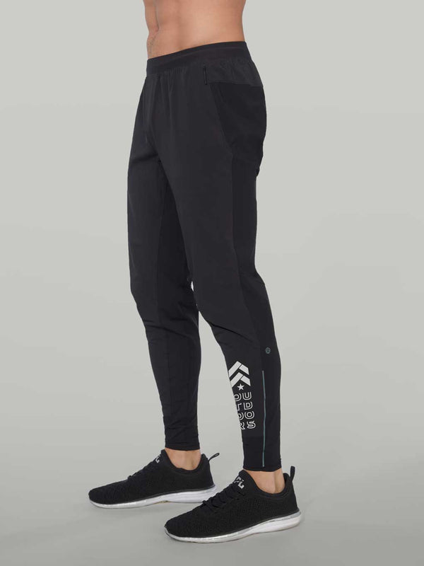 LULULEMON OUTDOORS BLACK SURGE HYBRID PANT