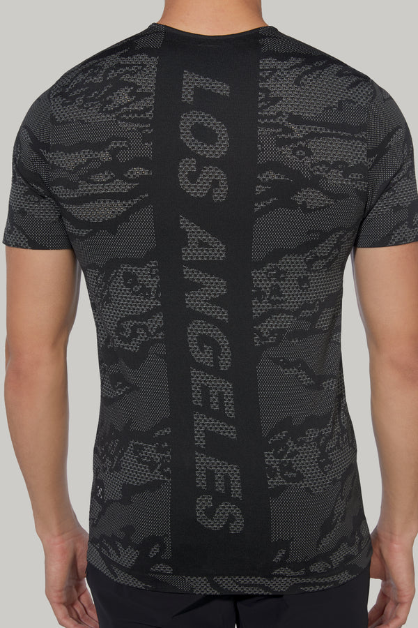 LULULEMON LOS ANGELES CITY CAMO MVB SS TEE