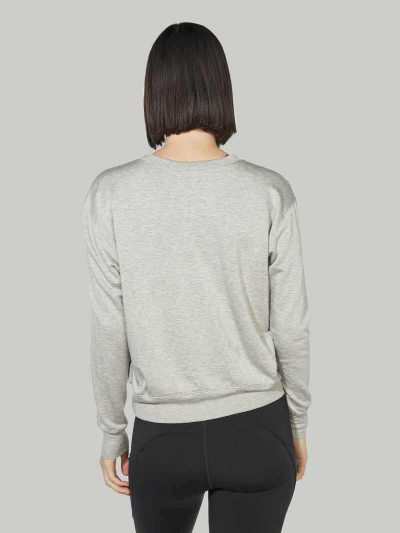 BARRY'S OUTDOORS HEATHER GREY DREAM PULLOVER