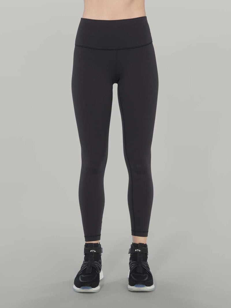 LULULEMON OUTDOORS BLACK WUNDER UNDER 25IN