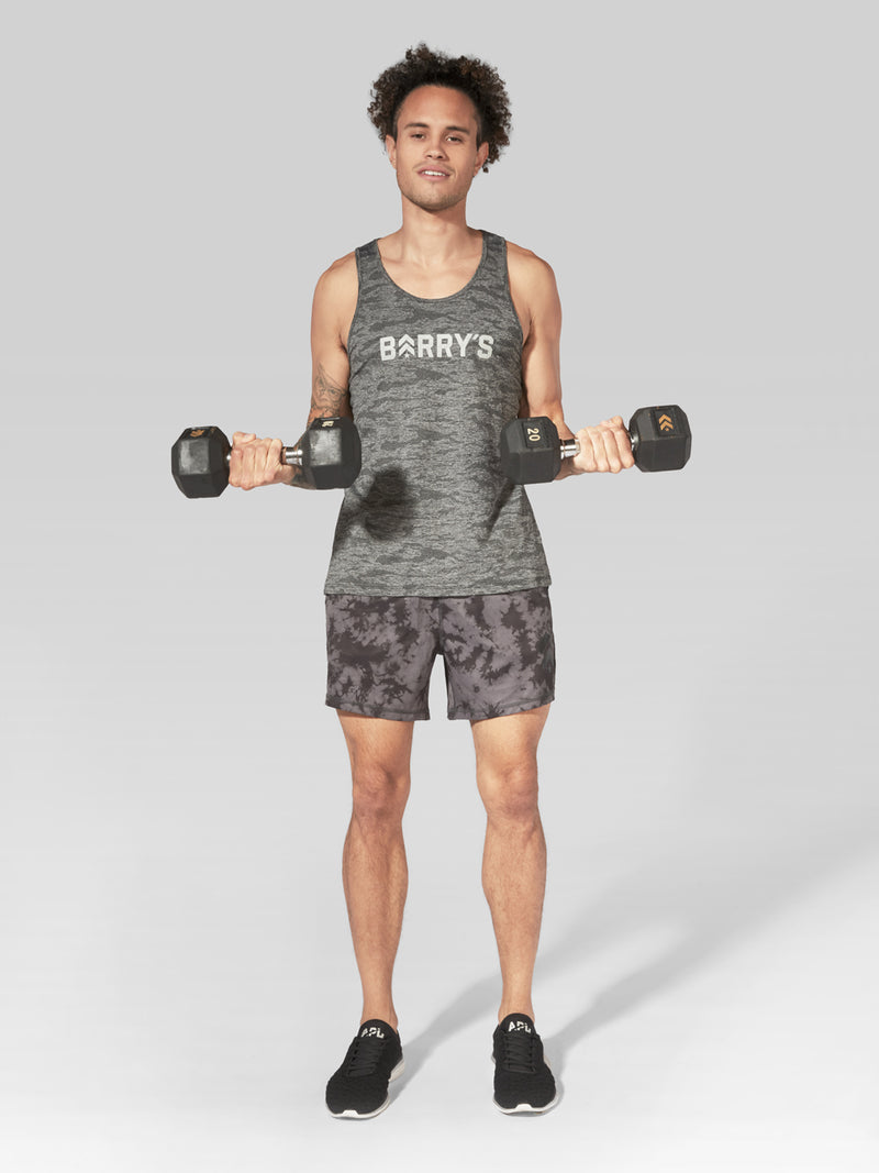 BARRY'S FIT CLASSIC CAMO JACQUARD TANK