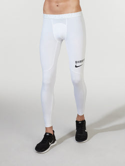 NIKE X BARRY'S WHITE PRO TIGHT