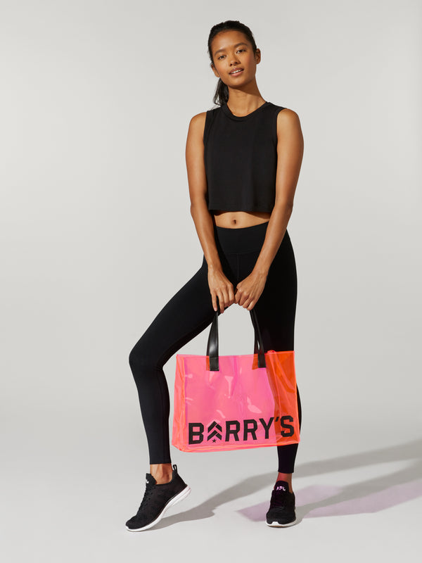 BARRY'S HOT PINK PVC BAG