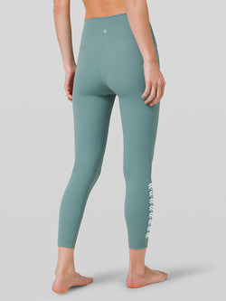 LULULEMON // BARRY'S TIDEWATER TEAL WUNDER UNDER HR 78 TIGHT FULLUX