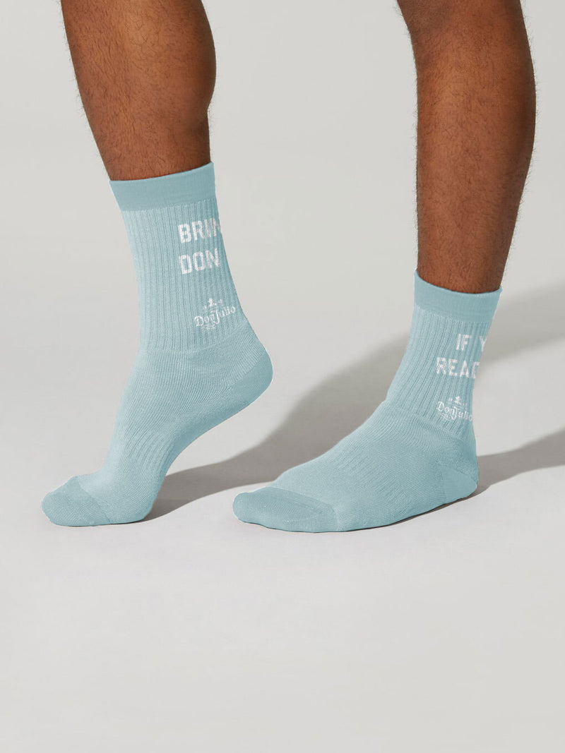 DON JULIO X BARRY'S LIGHT BLUE SOCKS