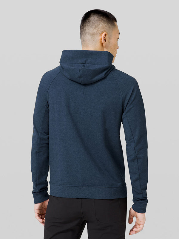 LULULEMON // BARRY'S FAMILY TRUE NAVY CITY SWEAT ZIP LIFT HOODIE