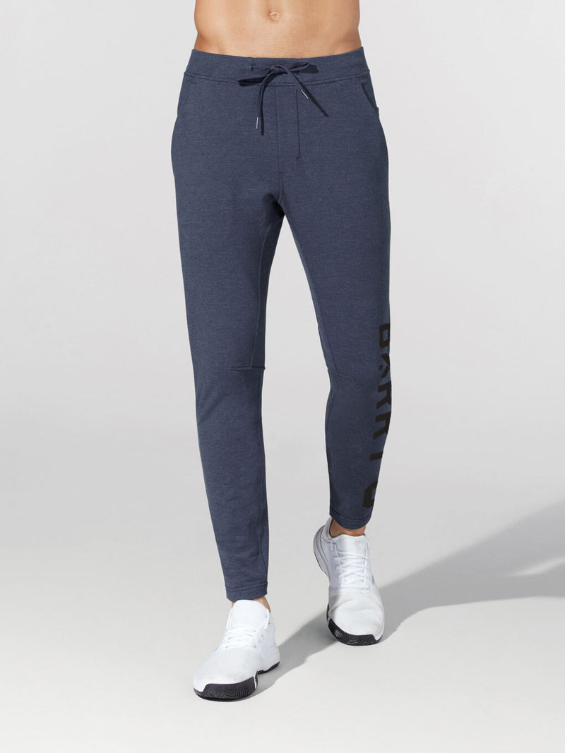 LULULEMON // BARRY'S FAMILY TRUE NAVY CITY SWEAT SLIM PANT