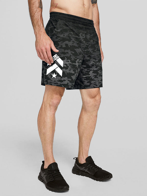 LULULEMON // BARRY'S FAMILY BLACK PACEBREAKER 7 IN LINERLESS SHORT
