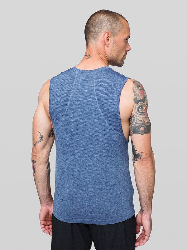 LULULEMON // BARRY'S FAMILY BLACK METAL VENT TECH 2.0 SLEEVELESS TANK