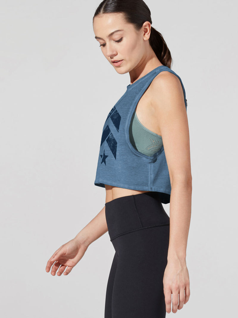 LULULEMON FAMILY CUT BACK CROP TANK