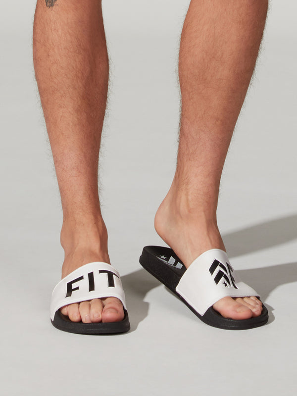 BARRY'S FIT AF MEN'S SLIDES