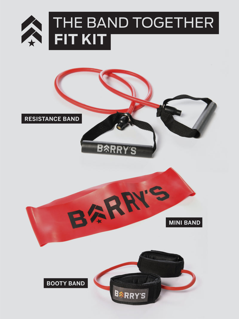 BARRY'S BAND TOGETHER FIT KIT 3 PACK - RED