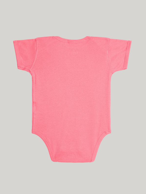 GYM BRAT HOT PINK RABBIT SKIN ONESIE