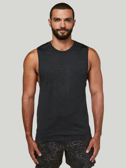 LULULEMON x BARRY'S BLACK METAL VENT TECH MUSCLE TANK