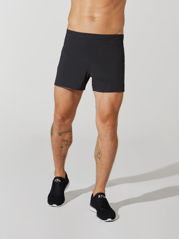 LULULEMON X BARRY'S BLACK SURGE SHORT