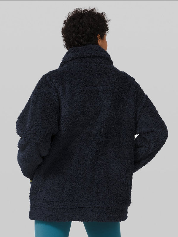LULULEMON TRUE NAVY OH SO SHERPA JACKET