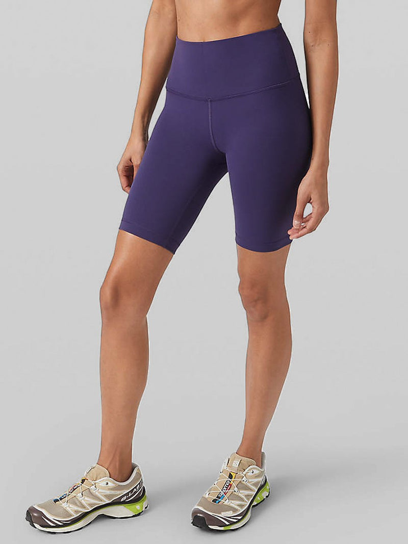 LULULEMON MIDNIGHT ORCHID WUNDER UNDER HR SHORT 8 IN