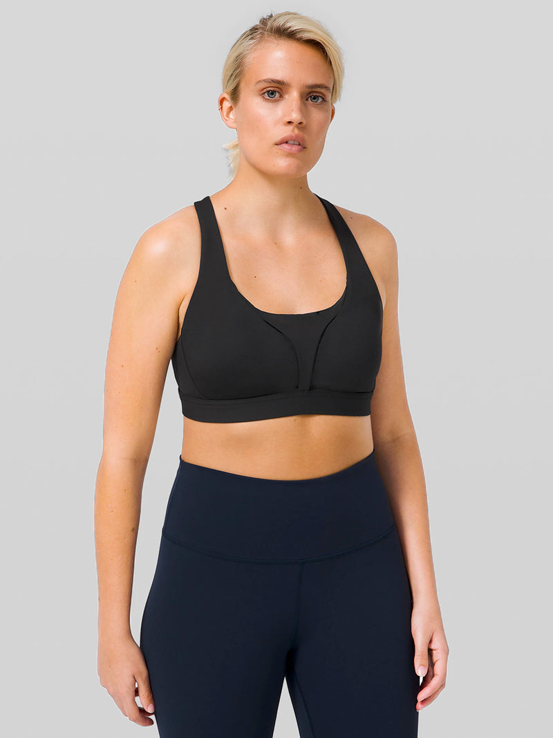 LULULEMON BLACK STASH IT ALL BRA CORE