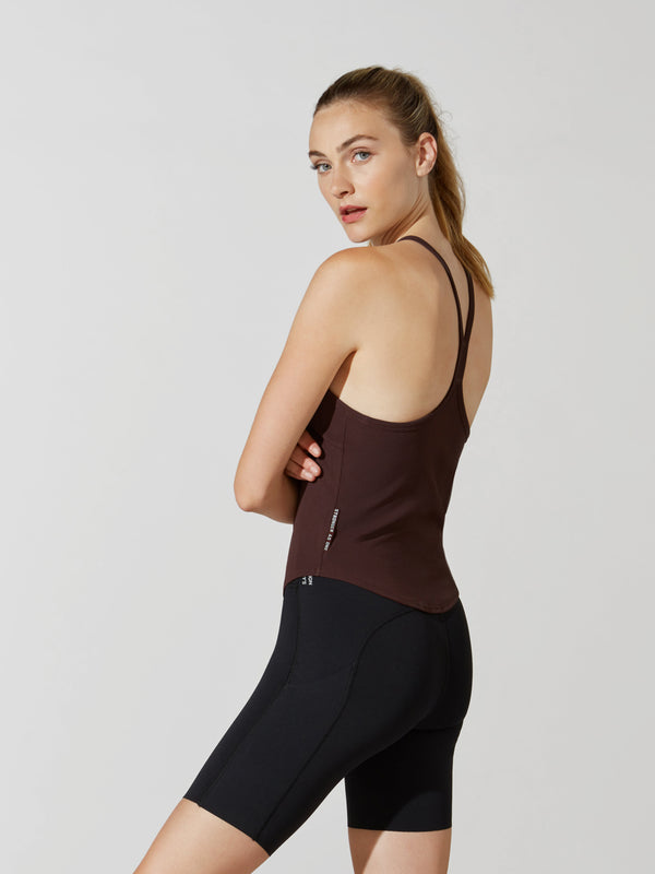 LULULEMON X BARRY'S MIDNIGHT MAROON RIBBED TANK