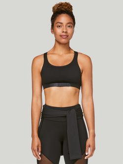 LULULEMON X BARRY'S BLACK ADAPT THE STRAP BRA