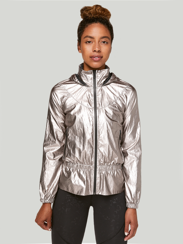 LULULEMON X BARRY'S TITANIUM STRONGER AS ONE JACKET