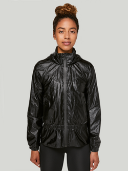 LULULEMON X BARRY'S MATTE BLACK STRONGER AS ONE JACKET