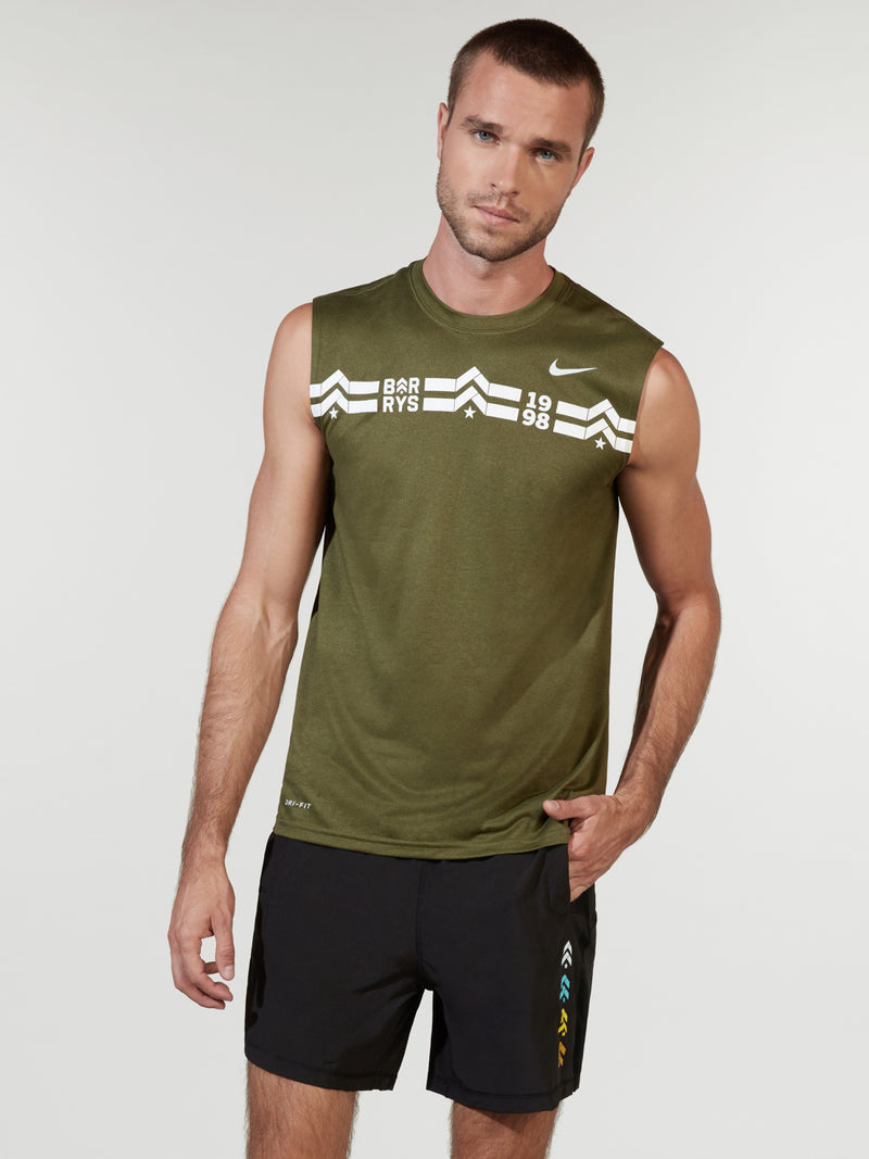 NIKE X BARRY'S OLIVE DRY TANK