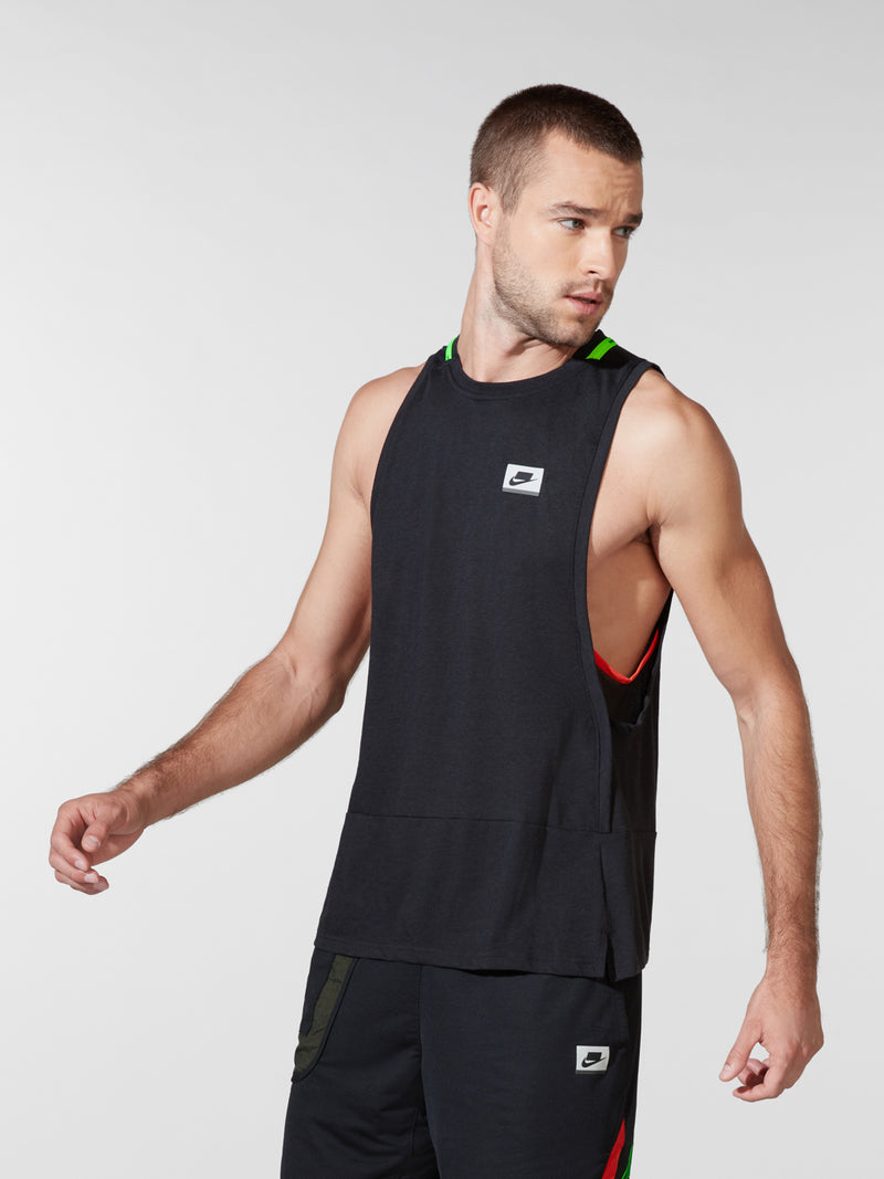 NIKE X BARRY'S BLACK DRI-FIT TANK