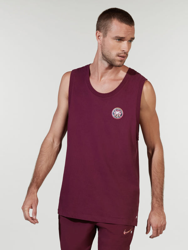 NIKE BORDEAUX DRI WILD RUN TANK