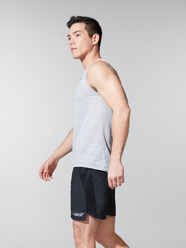 NIKE X BARRY'S DRI FIT ATMOSPHERE GREY MILER TANK