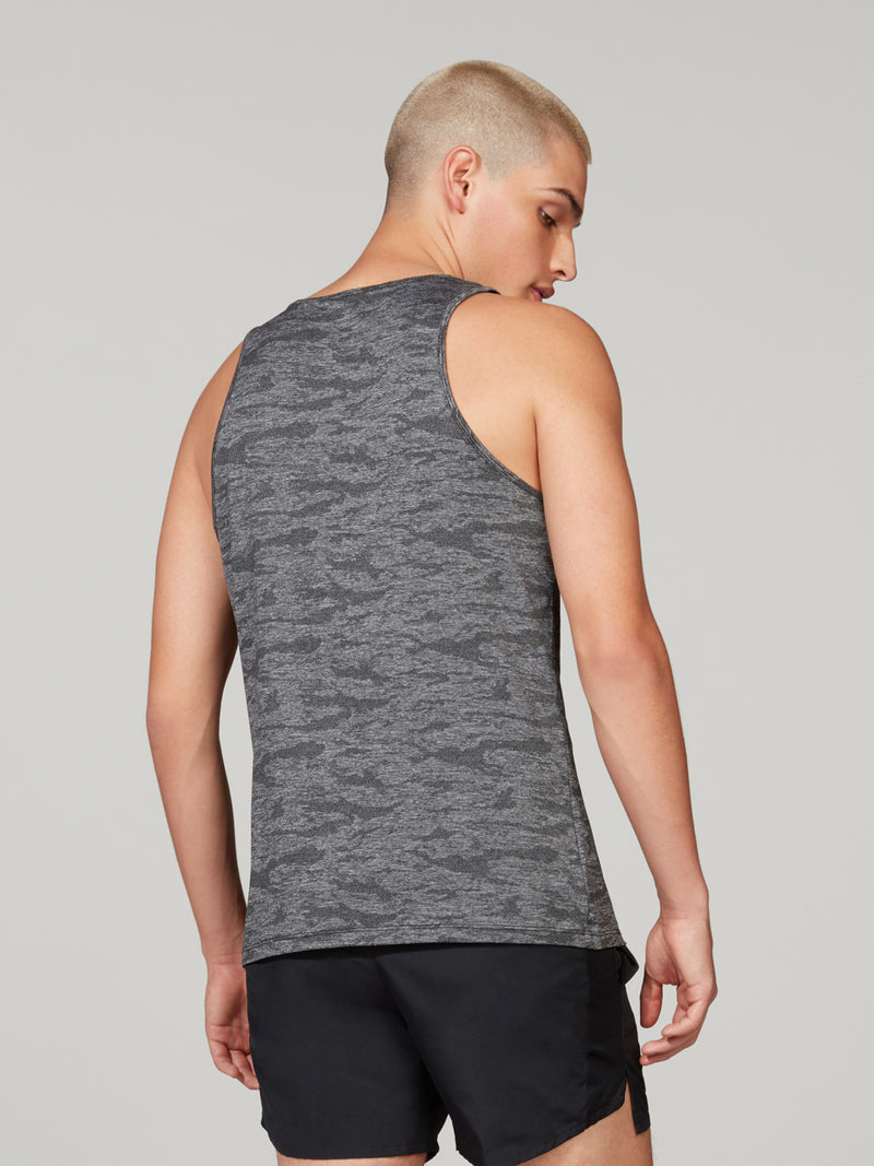 BARRY'S FIT CAMO JACQUARD TANK LOCATION SPECIFIC