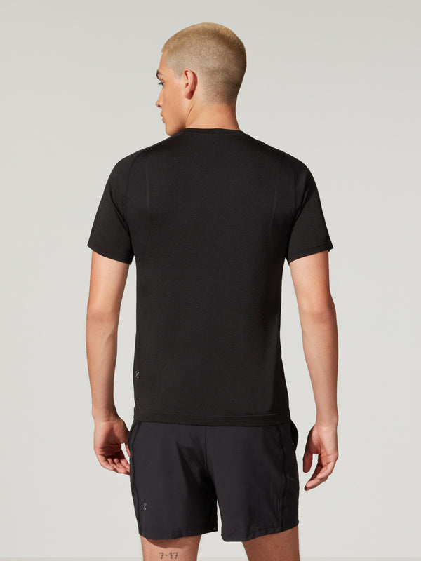LULULEMON BLACK METAL VENT TEE