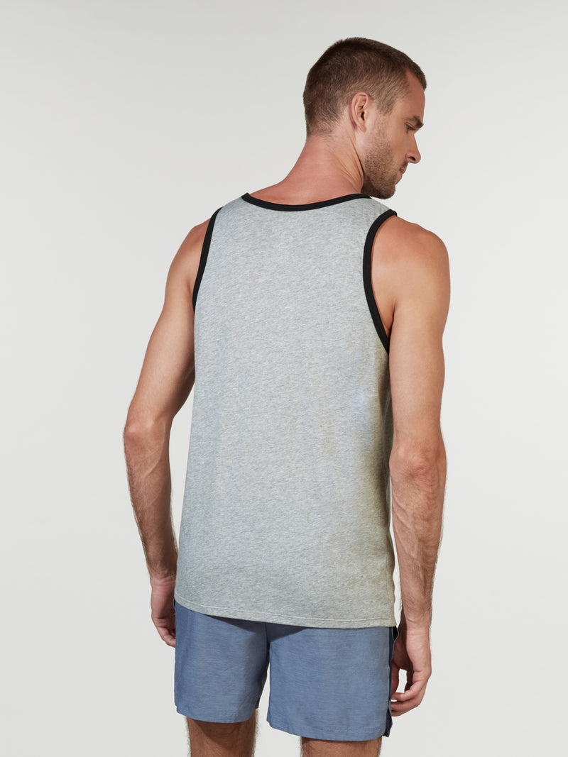 NIKE X BARRY'S DARK GREY HEATHER ACE TANK