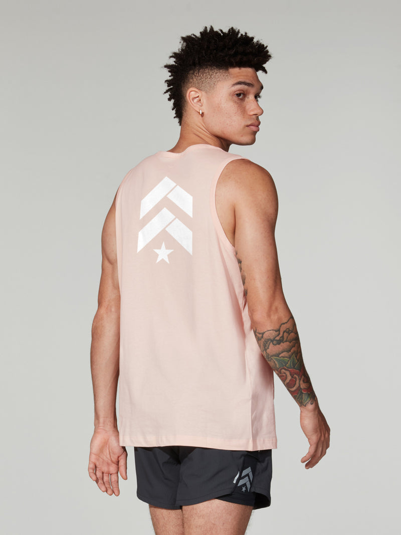 NIKE X BARRY'S WASHED CORAL SPORTSWEAR TANK