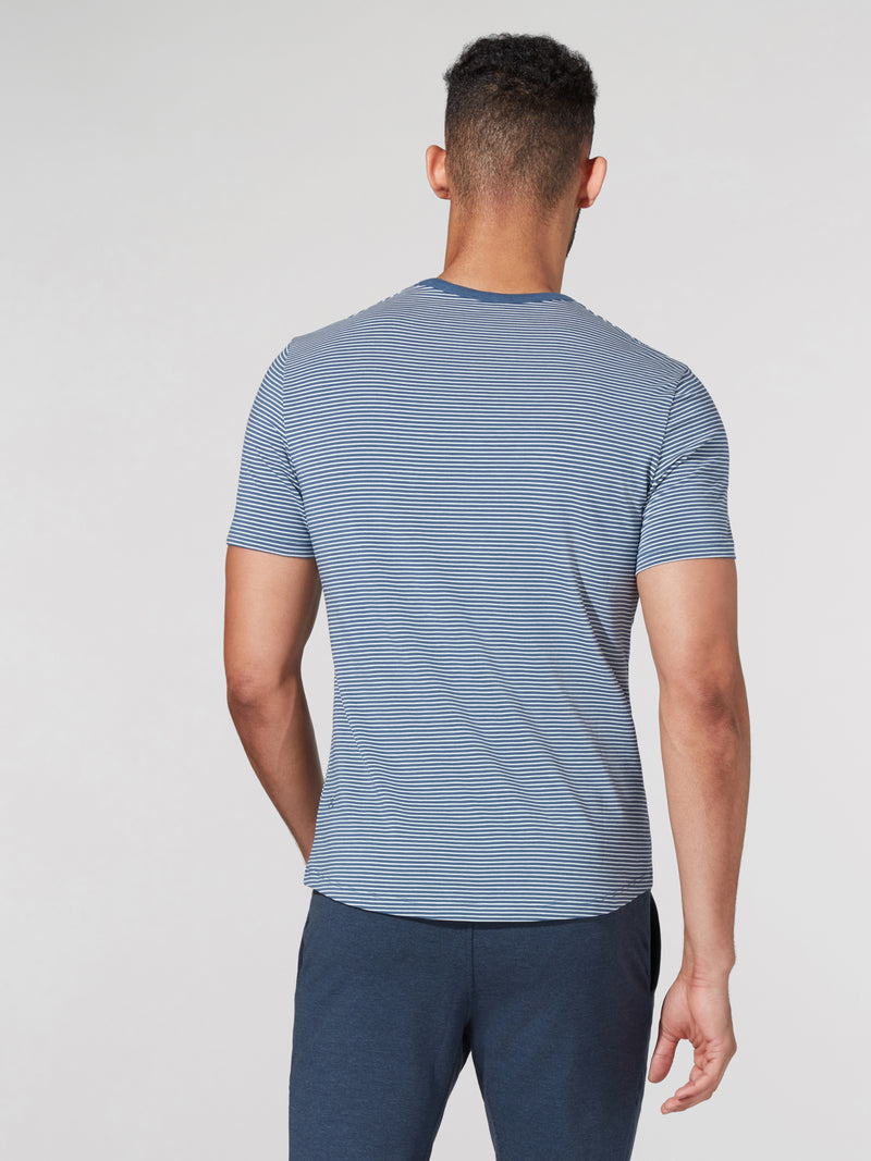 LULULEMON // BARRY'S HYPER STRIPE 5 YEAR TEE