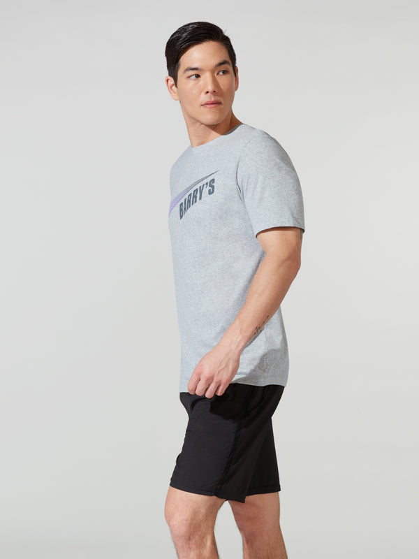 NIKE X BARRY'S ULTRA LIGHT GREY DRI-FIT TEE
