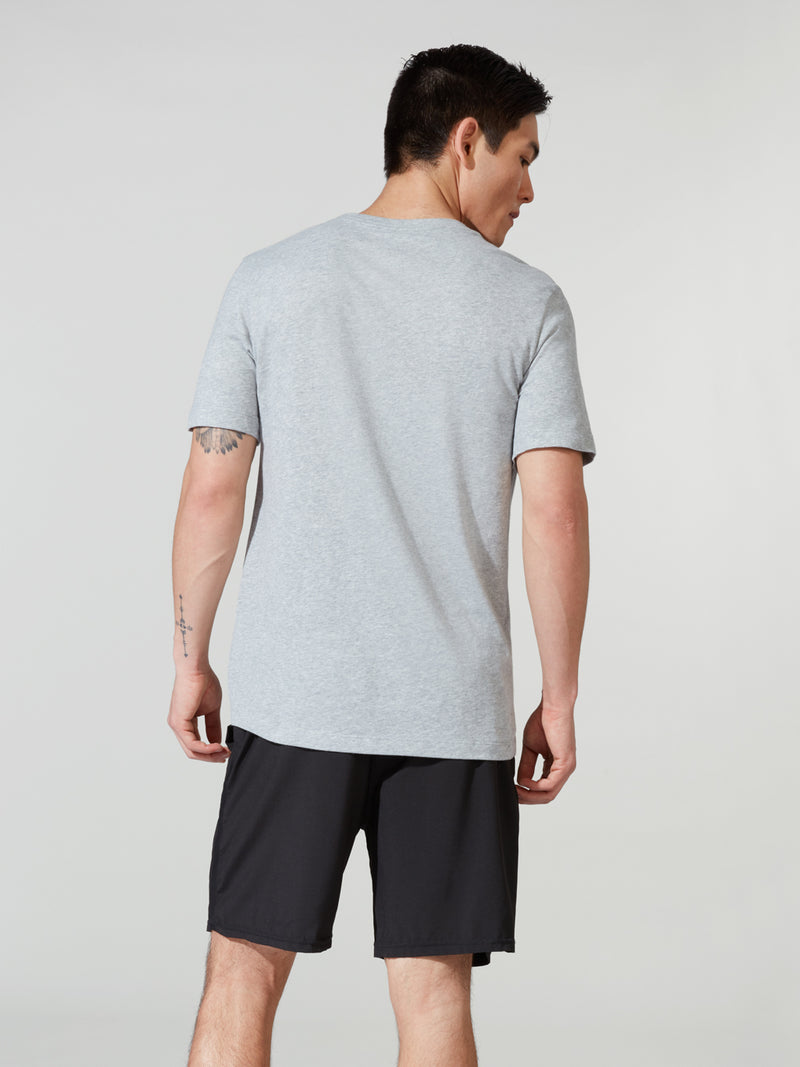 NIKE ULTRA LIGHT GREY DRI-FIT TEE