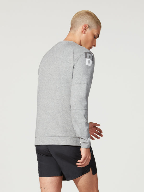 NIKE SPORTSWEAR CREW HEATHER GREY