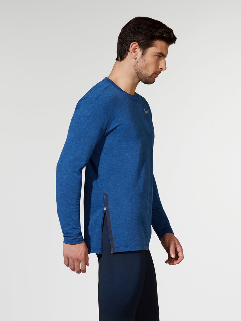 NIKE BLUE VOID ELEMENT LONG SLEEVE