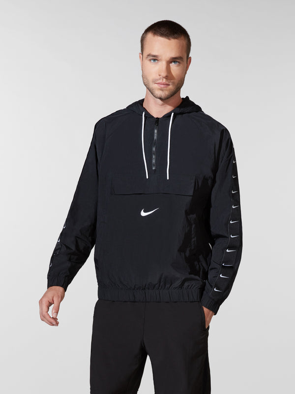 NIKE X BARRY'S BLACK SWOOSH JACKET