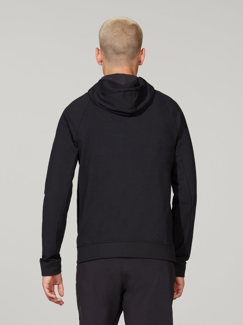 LULULEMON OUTDOORS BLACK CITY SWEAT ZIP HOODIE