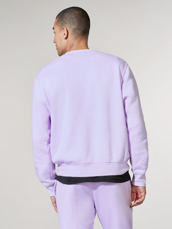 NIKE X BARRY'S LAVENDER SPORTSWEAR CLUB PULLOVER