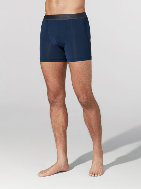 LULULEMON // BARRY'S TRUE NAVY AIM BOXER
