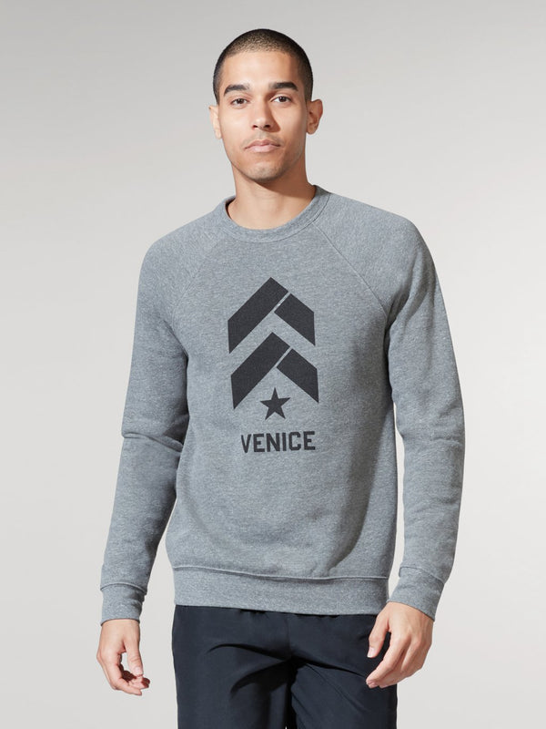 BARRY'S LOCATION SPECIFIC CHEVRON SWEATSHIRT