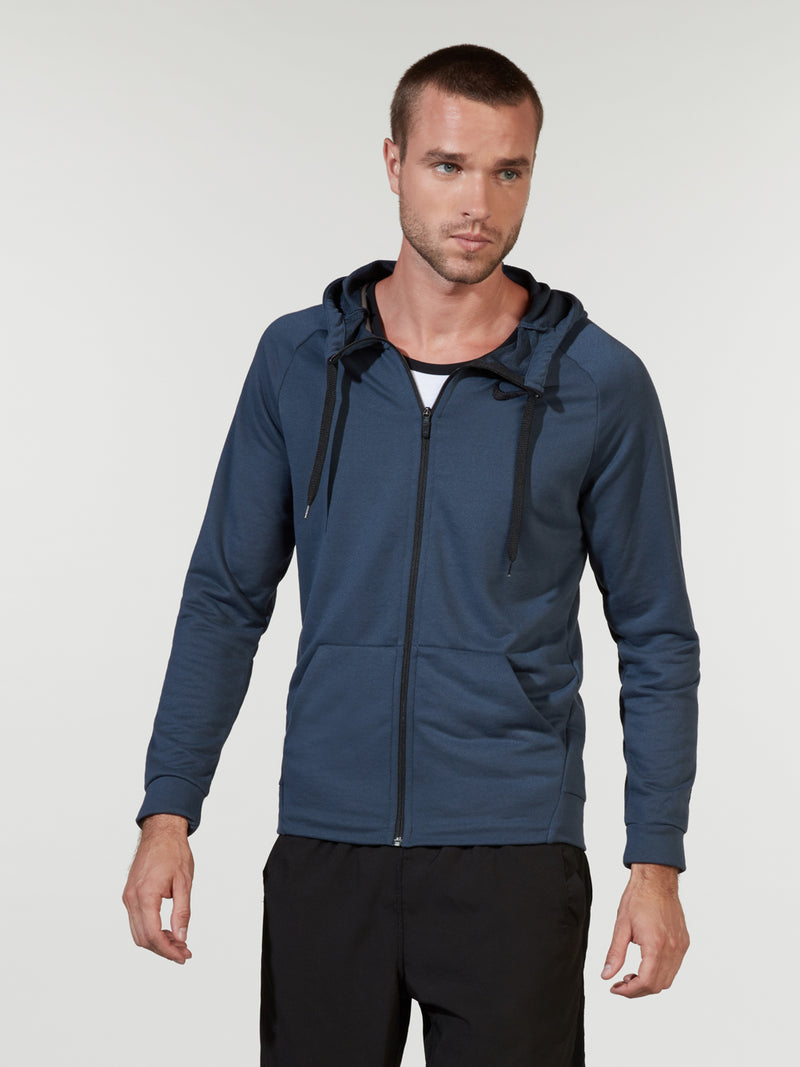 NIKE THUNDER BLUE DRY TRAINING HOODIE