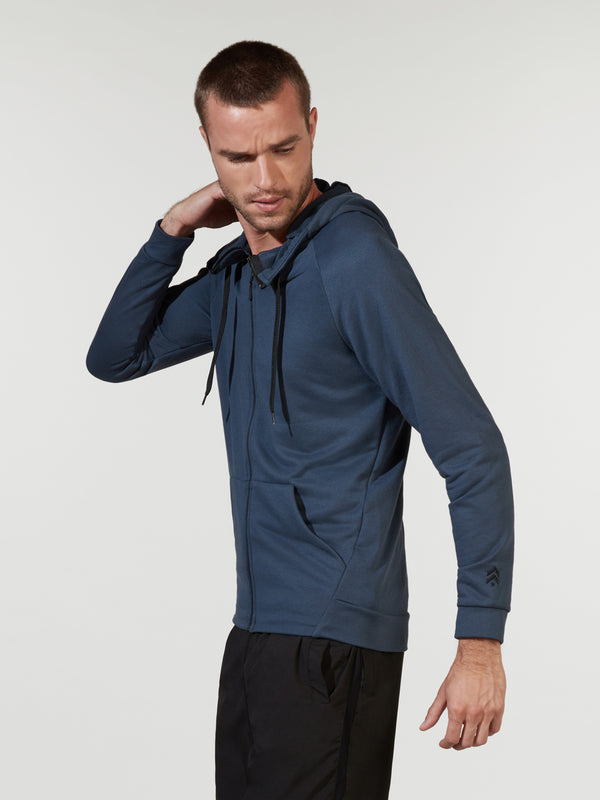 NIKE X BARRY'S THUNDER BLUE DRY TRAINING HOODIE