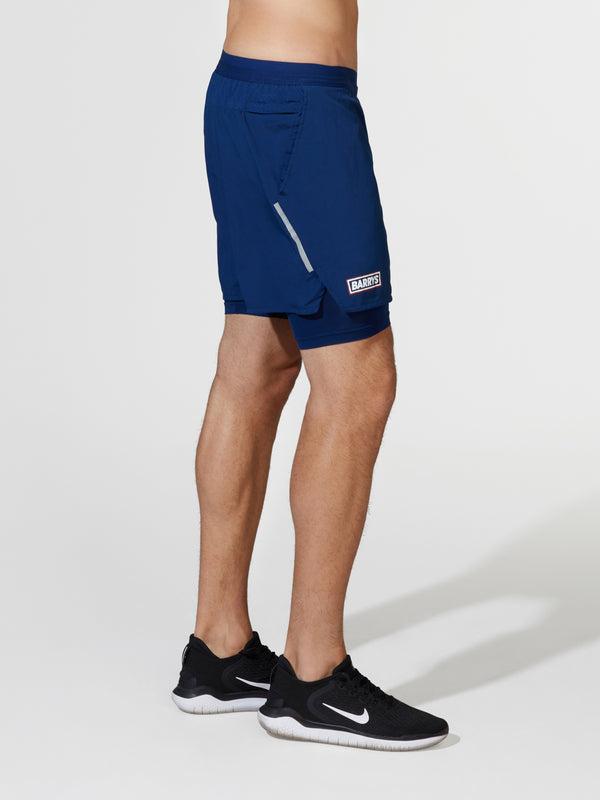 NIKE BLUE VOID FLEX STRIDE SHORT
