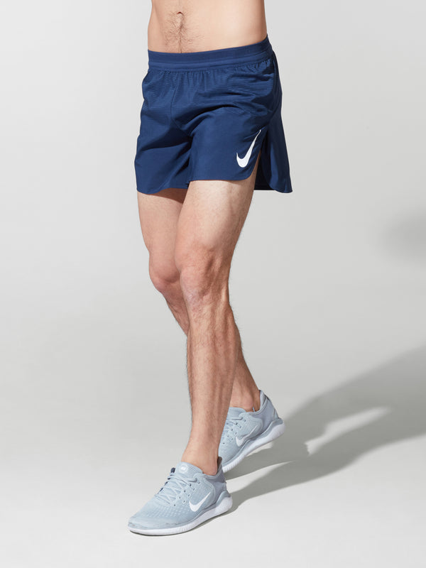NIKE NAVY AEROSWIFT SHORT