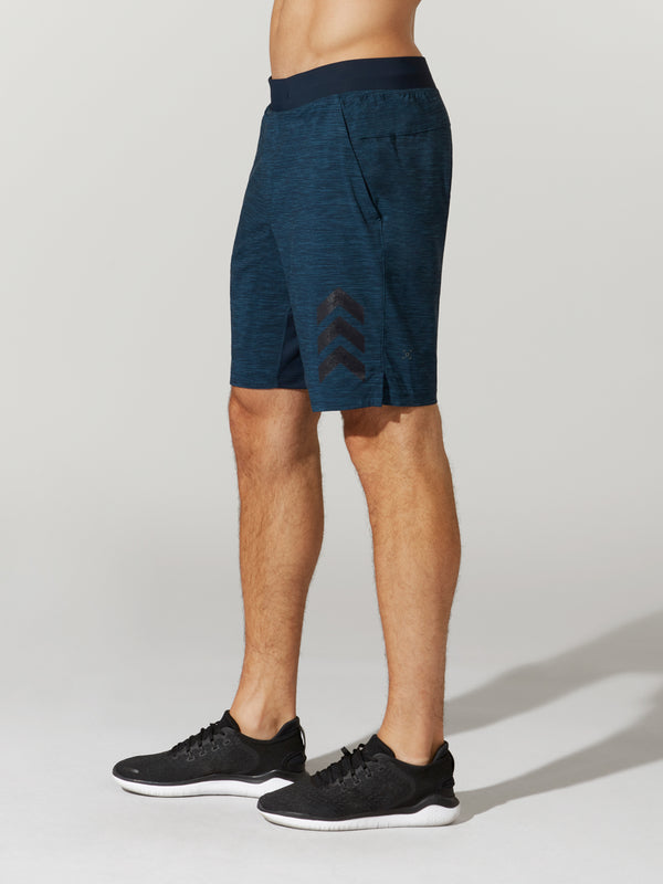 LULULEMON IRON BLUE T.H.E NULUX SHORT